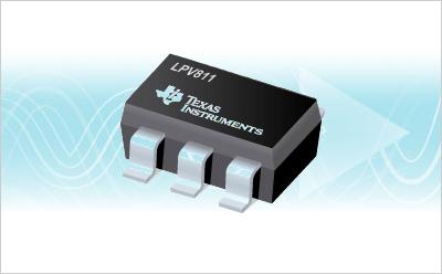 TI公司推出新型运算放大器LPV811和LPV812